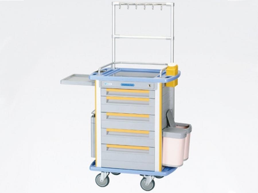 Xe đẩy cấp phát và tiêm thuốc HL-TC0411-2
